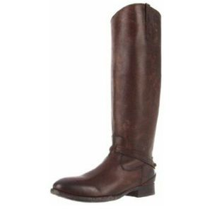 FRYE Women's Lindsay Plate Knee-High Boot size 5.5